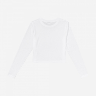 Fila Eaven Cropped Long Sleeve Shirt white Bild 2