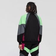 Fila Gia Oversized Half Zip black-turbulence-green-sangria Bild 2
