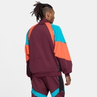 Fila Gia Oversized Half Zip fig-tigerlily-caribbean-sea Bild 2