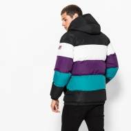 Fila Giovannie Vintage Colour Blocked Puffa Jacket Bild 2