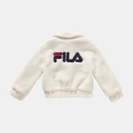 Fila Kids Bianca Sherpa Jacket eggnog Bild 2
