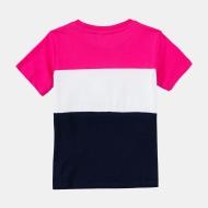 Fila Kids Classic Day Blocked Tee pink-yarrow-black-iris Bild 2