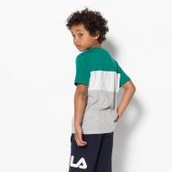 Fila Kids Classic Day Blocked Tee shady-glade Bild 2