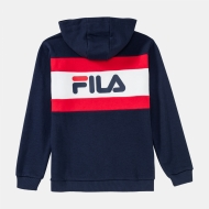 Fila Kids Ellanah Hoody black-iris-white-red Bild 2