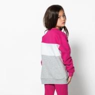 Fila Kids Night Blocked Crew pink-yarrow Bild 2