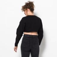 Fila Lucie Crop Raw Hem Sweatshirt black Bild 2