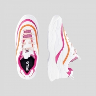 Fila Ray CB Low Wmn white-pink-mandarin Bild 2