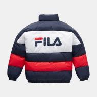 Fila Teens Brian Puff Jacket navy-red-white Bild 2