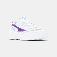 Fila V94M Low Wmn white-violet-curacao Bild 2