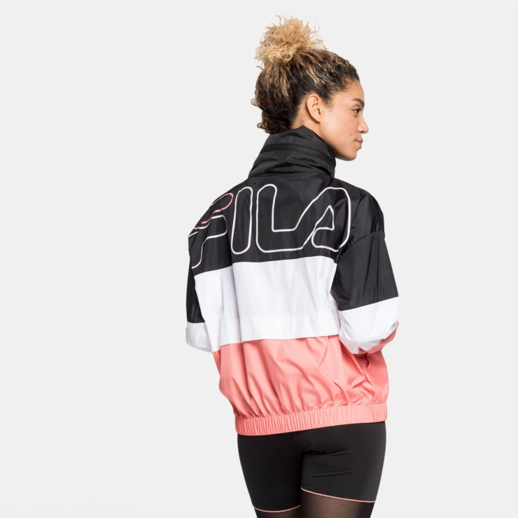 Fila Agrata Wind Jacket pink | FILA Official