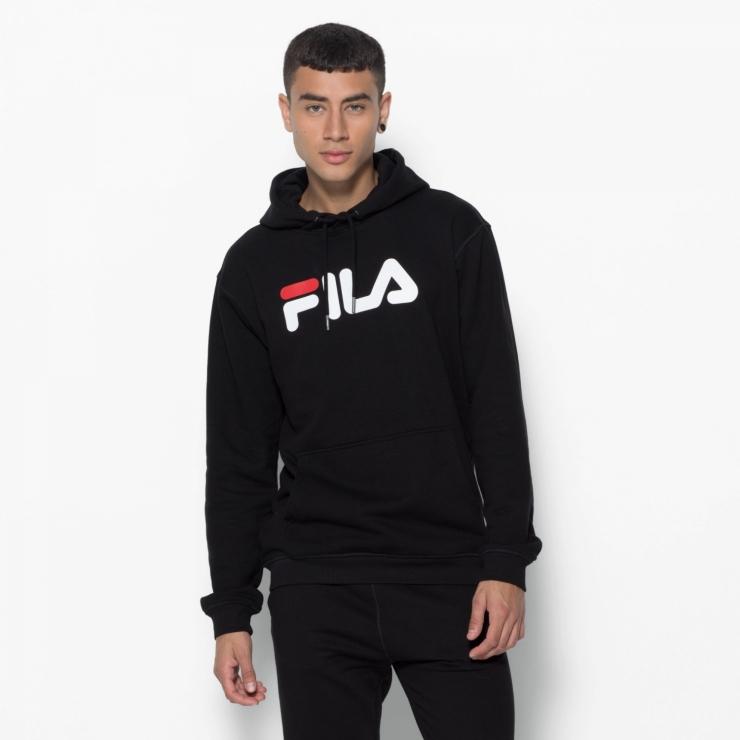 Fila Classic Pure Hoody Kangaroo black black | FILA Official