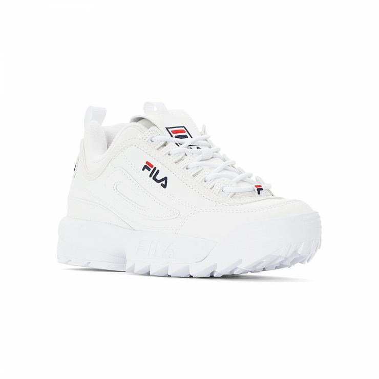 Fila Disruptor M Low Wmn shiny-white