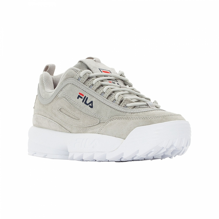 fila disruptor low beige
