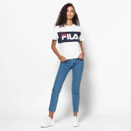 Fila Allison Tee white-black-iris Bild 3