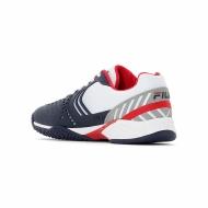 Fila Axilus 2 Energized Tennis Shoe Men white-navy-red Bild 3