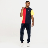 Fila Bansi Blocked Tee blue-red-yellow Bild 3