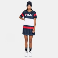 Fila Basanti Tee Dress black-iris Bild 3