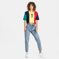 Fila Basma Blocked Cropped Tee Bild 3