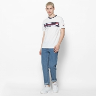 Fila Bruno 3 Cut And Sew Knit Panel Graphic Tee  Bild 3