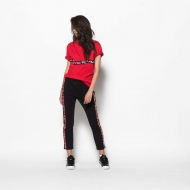 Fila Charo Tee red-black Bild 3