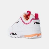 Fila Disruptor Logo JR white-beetroot Bild 3