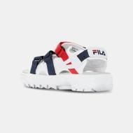 Fila Disruptor Sandal white-navy-red Bild 3
