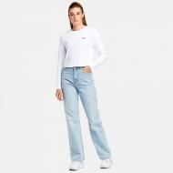Fila Ece Cropped Longsleeve Shirt white Bild 3