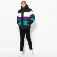 Fila Giovannie Vintage Colour Blocked Puffa Jacket Bild 3