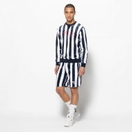 Fila Grid Printed Stripe Velour Short Bild 3