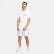 Fila Jani Striped Sporty Shorts white Bild 3