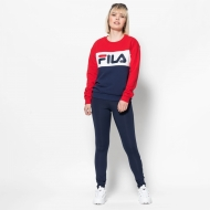 Fila Leah Crew Sweat black-iris-red-white Bild 3
