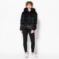 Fila Margot Hooded Fur Jacket Bild 3