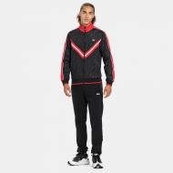 Fila Men Tauri Track Jacket black-true-red Bild 3