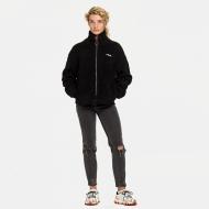 Fila Sari Sherpa Fleece Jacket black Bild 3