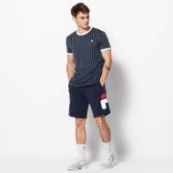 Fila Shirt Stripes peacoat Bild 3