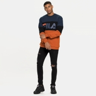 Fila Straight Blocked Crew black-iris Bild 3