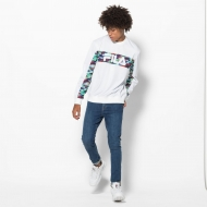 Fila Walter Oil Slick Graphic Stripe Crew Bild 3