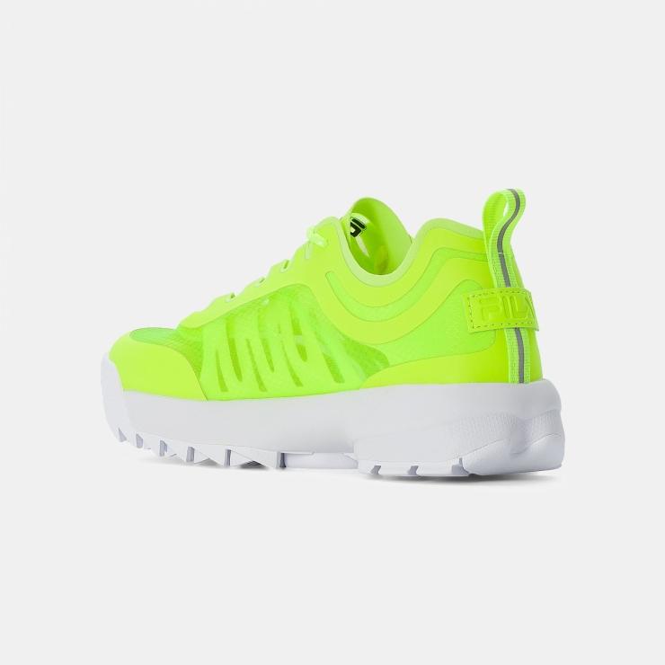Fila Disruptor Run Wmn neon-lime