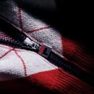 Fila Cashmere Argyle Full Zip Sweater Bild 4