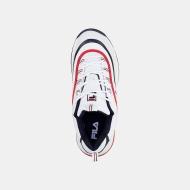 Fila Ray F Low Men white-navy-red Bild 4