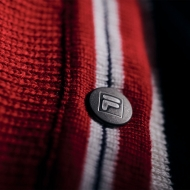 Fila White Rock Cashmere Asym. Half Button Fly Jumper Bild 4