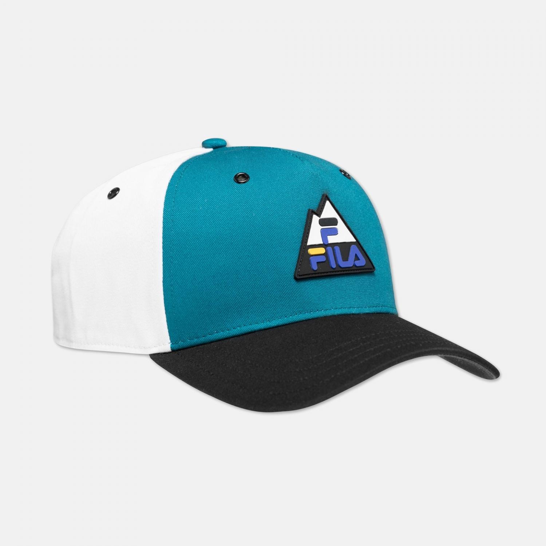 Fila 5 Panel Cap Colourblock Mountain Logo Bild 1