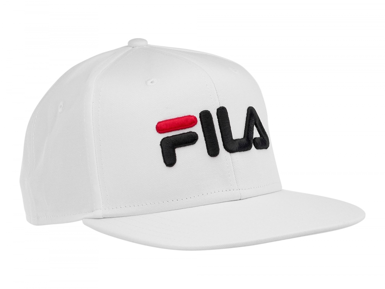 Fila - 6 Panel Baseball Cap - 00014201509512 - white  8d15c0829e4