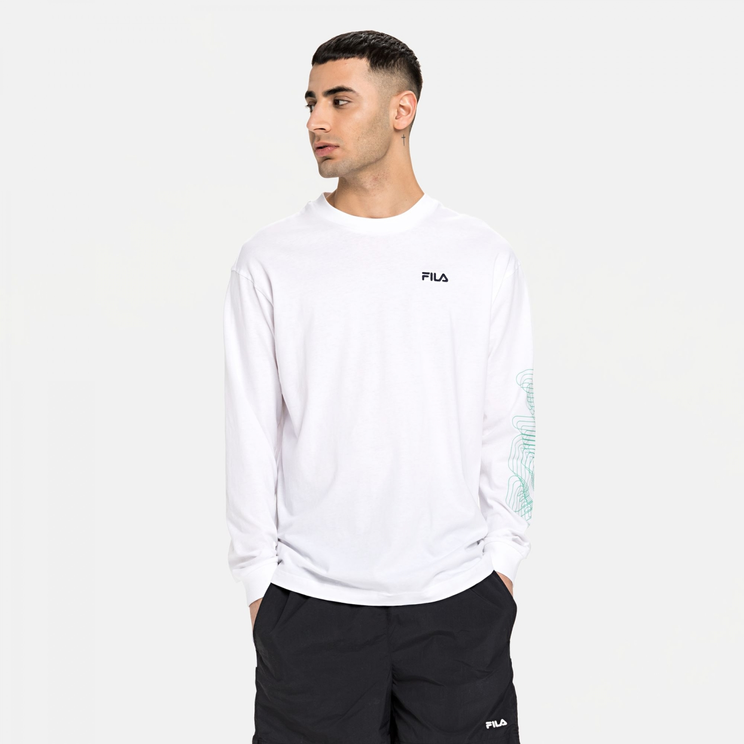 Fila Alvaro Long Sleeve Shirt Bild 1