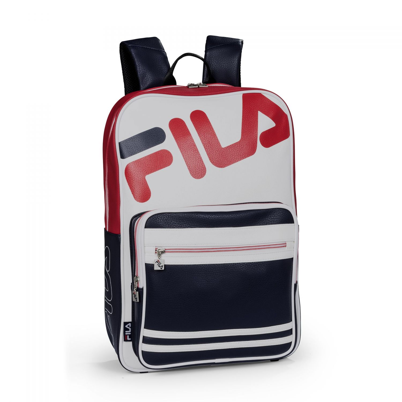 d80e729e00 Fila - Basic Backpack PU - 00014201662575 - white