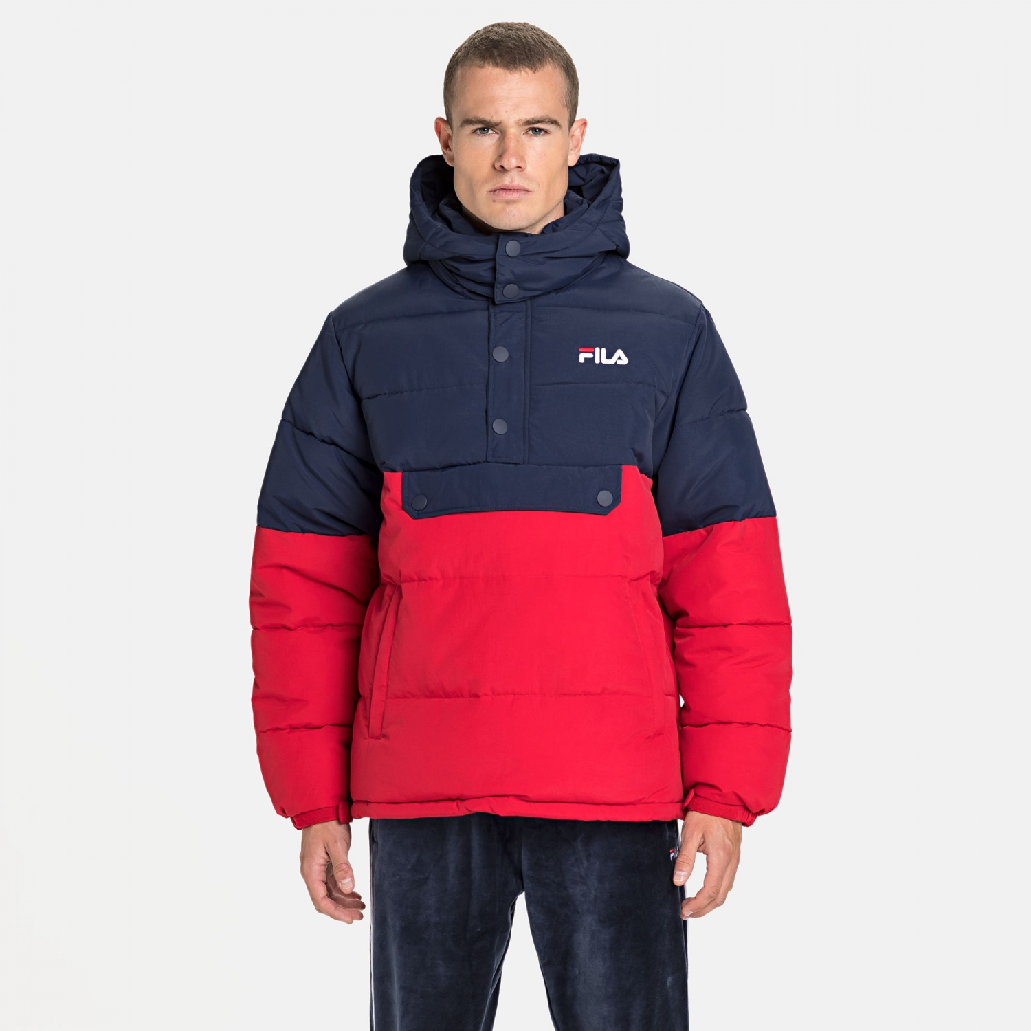 Fila Batul Blocked Puff Jacket Bild 1