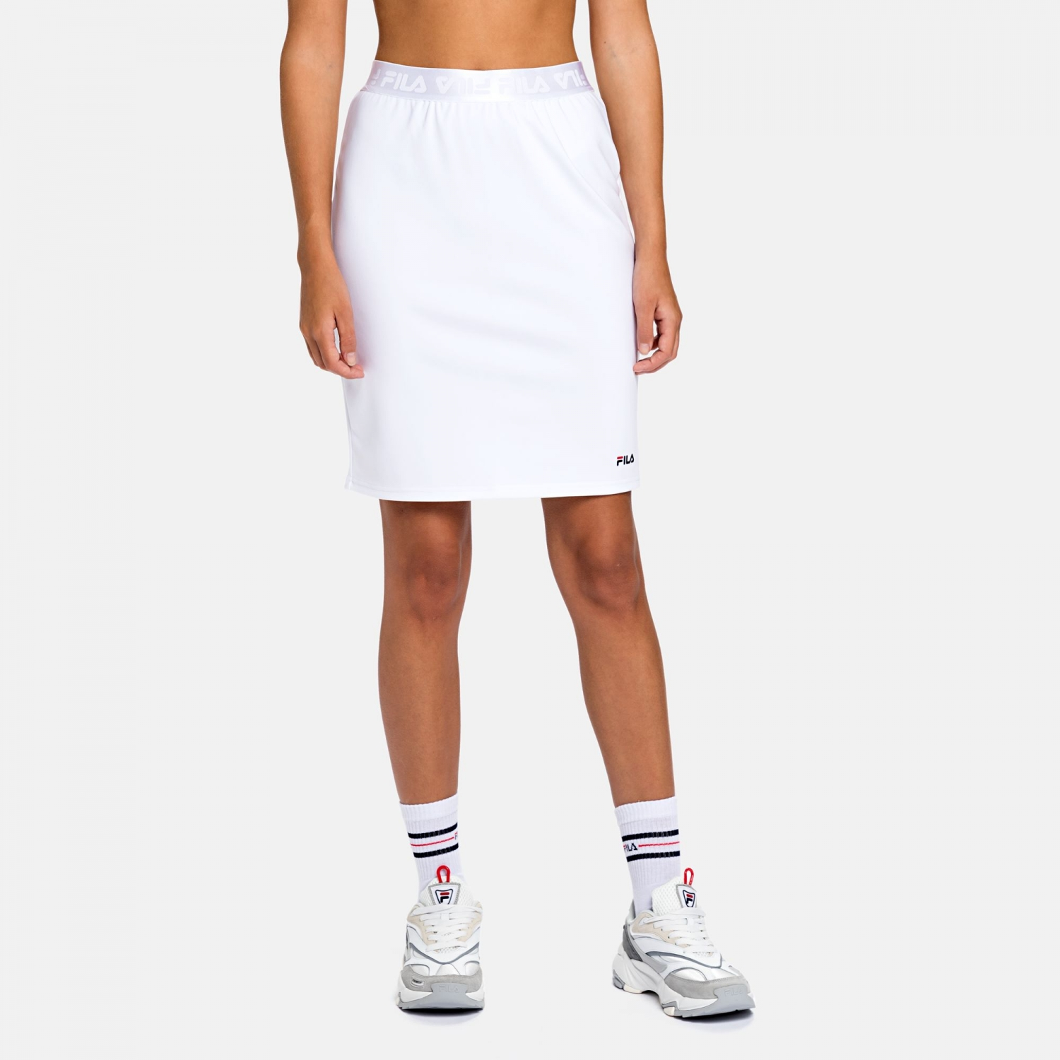 Fila Chess Skirt white Bild 1