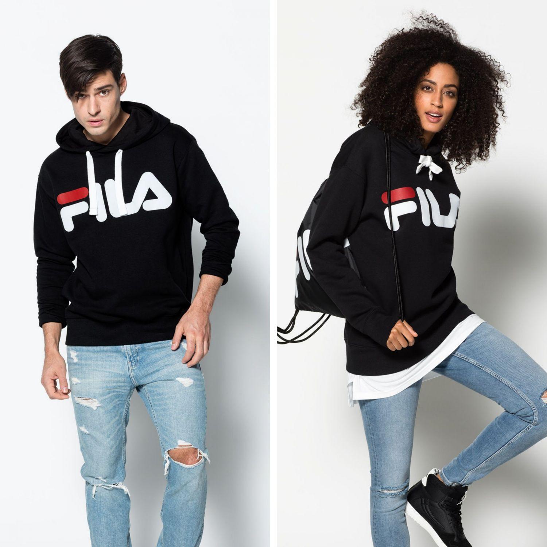 a1f90baf Fila Classic Logo Hood - black | FILA Official