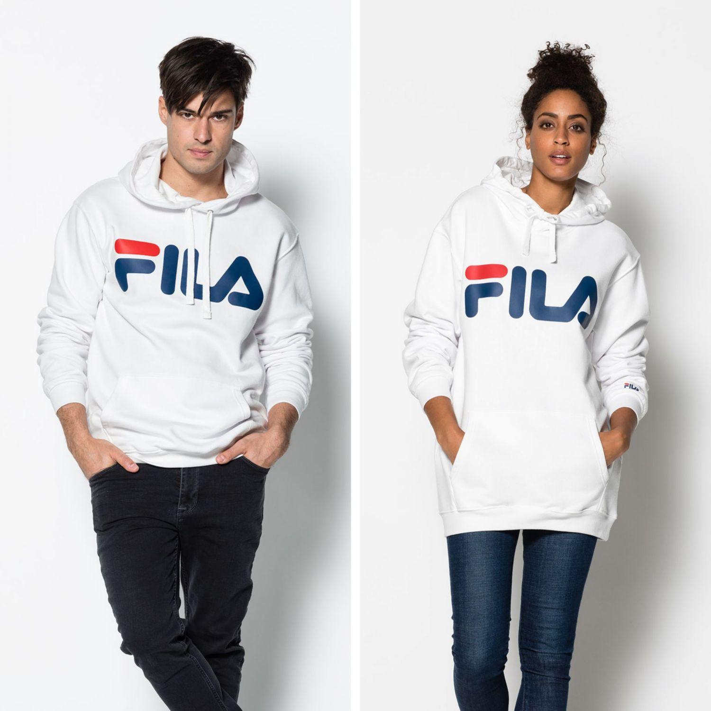 22051da9e001 Fila - Classic Logo Hood - 00014201477843 - white