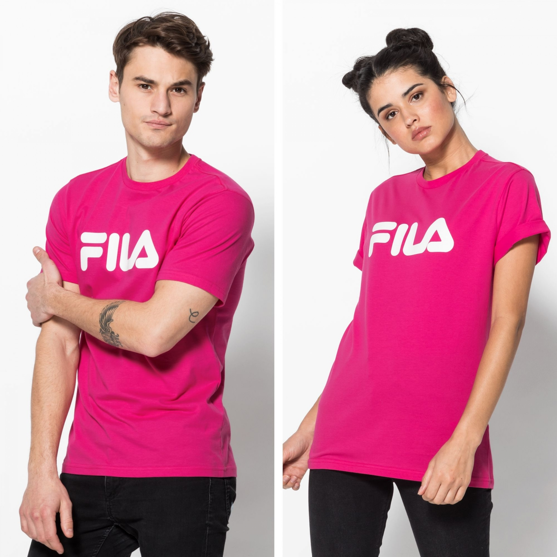 Fila Classic Pure Tee pink-yarrow Bild 1